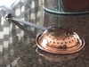 Long Handled Copper Strainer - Copper Proper Kitchen Collection