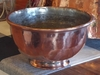 Rustic, Distressed Copper Proper Planter Bowl
