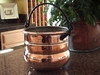 Rustic, Large Copper Proper Planter with handle from Copper Proper