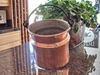 Very Large, Rustic Copper Proper Flower Pot