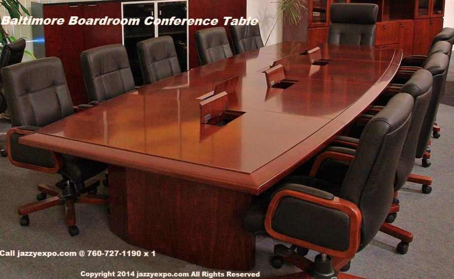 The Baltimore Boardroom Table Is An Elegant Conference Room Table With