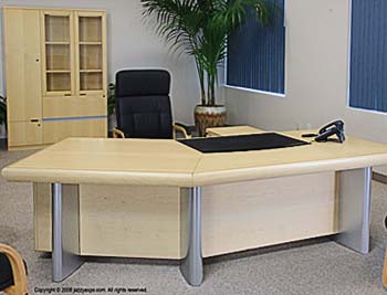 Dallas Maple Office Desk