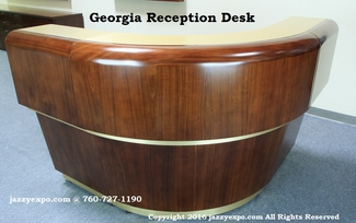 Georgia Reception Desk - Curved Section - NEW!