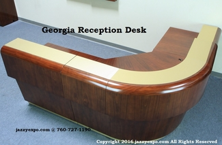 Georgia Reception Desk with 2 Extensions - NEW!!