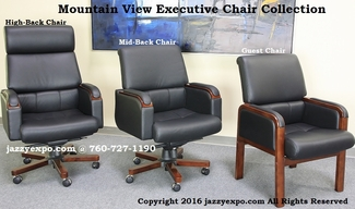 Mountain View Luxury Executive Chair Collection