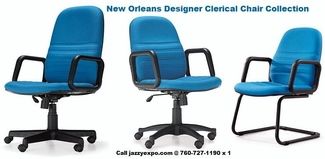 New Orleans Designer Clerical Chair Collection