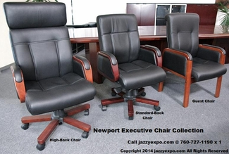 The Newport Executive Chair Collection