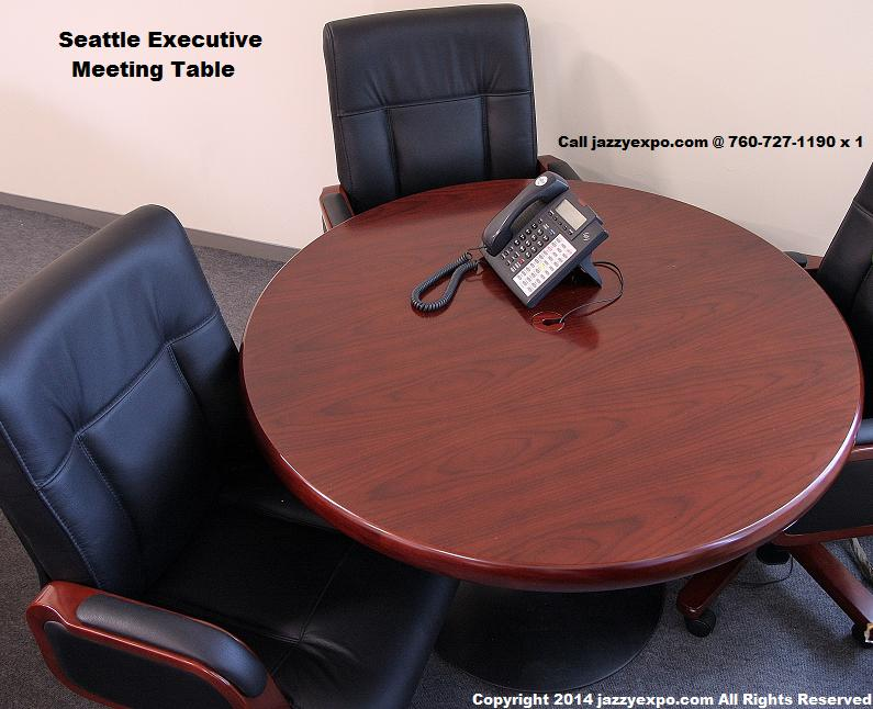 Round Executive Meeting Table Seattle Model