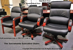 The Sacramento Executive Chair Collection