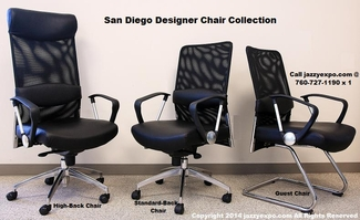 The San Diego Designer Chair Collection