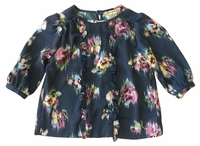 Anthem Of The Ants Cafe Blouse With Ruffle