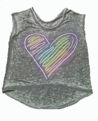 Chaser Glow Heart Top
