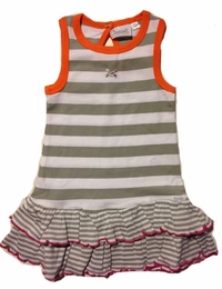 Coccoli Girls Cotton Dress