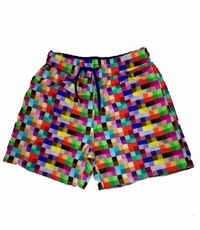 Europann Boys Squares Swim Trunks