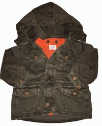 Hartford Army Jacket With Removable Inside Jacket