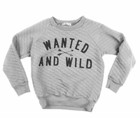 Joah Love Quilted Sweatshirt-Will Ship By 9/20/15