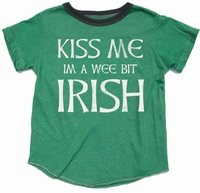 Rowdy Sprout Kiss Me I'm Irish Tee