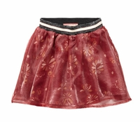 Scotch R'Belle Printed Skirt With Organza Top Layer