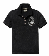Scotch & Soda Shrunk Acid Polo Shirt