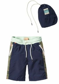 Scotch & Soda Shrunk Colorblock Swim Shorts