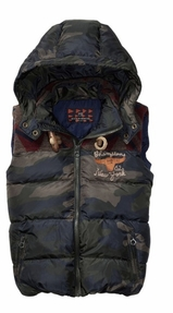 Scotch & Soda Shrunk Hooded Vest
