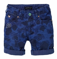 Scotch & Soda Shrunk Mercer Relaxed Slim Camouflage Shorts