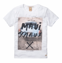 Scotch & Soda Shrunk Rock Inspired Tee