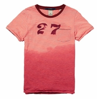 Scotch & Soda Shrunk S/S Tee With Artwork