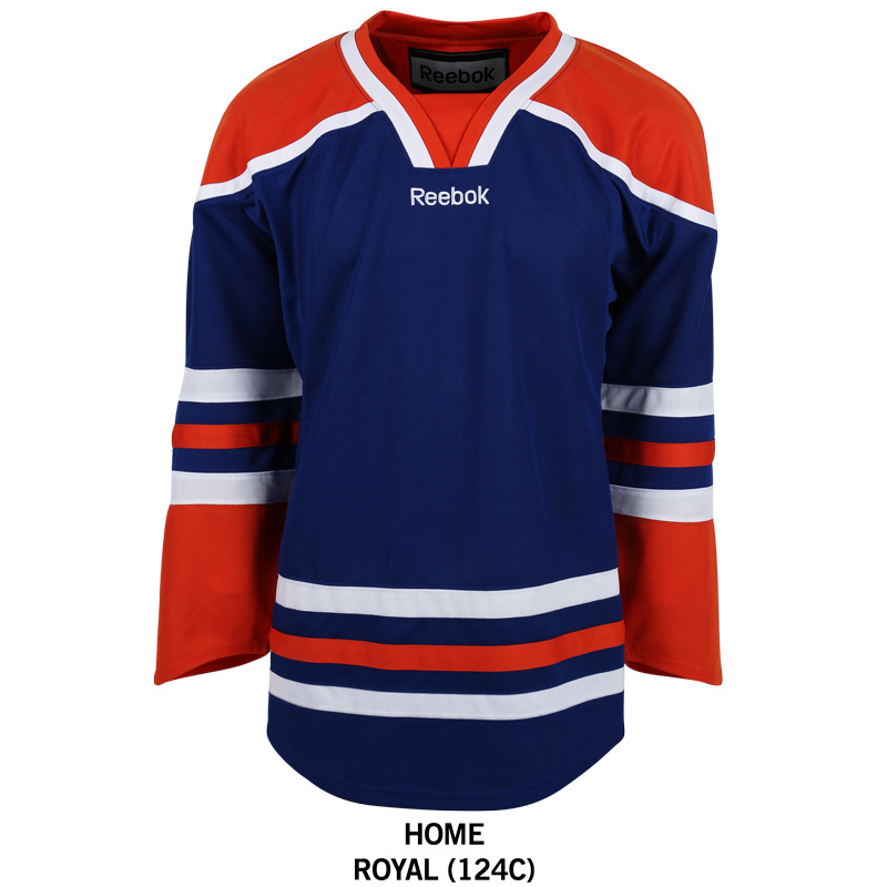 Hockey Coloring Pages Oilers Jersey