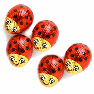 Chocolate Ladybugs - 60ct