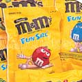 fun size peanut M&M's