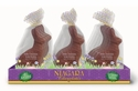 Solid Milk Chocolate Rabbits 6oz - 12ct