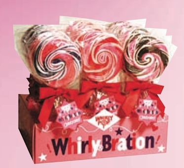 Whirlybration Pops Strawberry - 18 ct