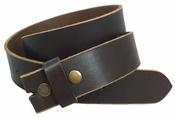 BS1200 Full Grain Leather Belt Strap - Brown $5.00