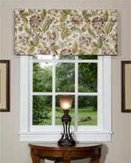 Aurelia Tailored Valance - Dove