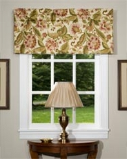 Aurelia Tailored Valance - Flax