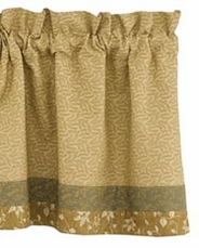 Barrington Lined Border Valance