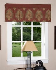 Bentley Box Pleat Valance