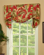 Captiva Tie Up Curtain