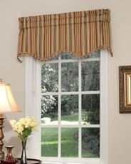 Cathedral Scalloped Valance