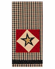 Federal Star Decorative Dishtowel