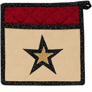 Federal Star Potholder with Pocket