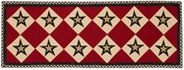 Federal Star Table Runner