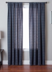 Garlen Check Curtain Panel