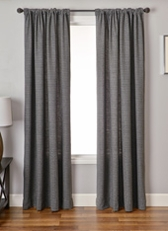 Garlen Houndstooth Curtain Panel
