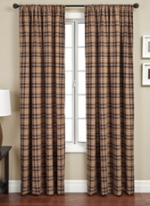 Garlen Plaid Curtain Panel