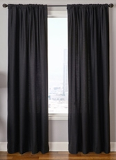 Garlen Solid Curtain Panel