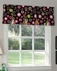 Impulse Button Pleat Valance