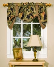 La Selva (Black) Tie Up Curtain