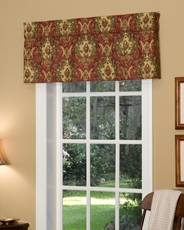 Lahore (Ruby) Tailored Insert Valance